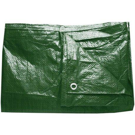 Krycí nepromokavá plachta super těžká (250g/m2) zelená, 8m x 15m