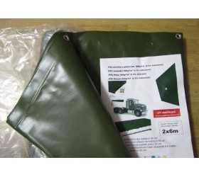 Plachty z PVC - pogumovaná autoplachtovina (560g/m2)