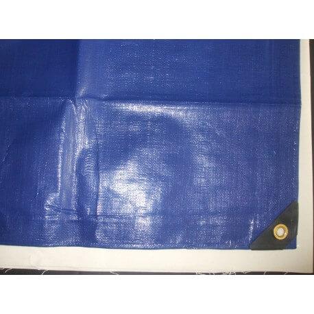Krycí nepromokavá plachta super těžká (200g/m2) modrá, 8m x 10m
