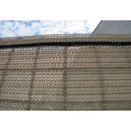 Stínící tkanina PloteS 180g/m2, 90% stínivost, písková ks 1,5m x 50m