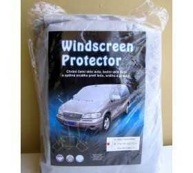 Zimní plachta na auto na zakrytí předního a bočních skel